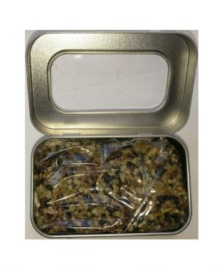 Natural Resin Incense | RITUAL Blend | 50 gram packet In a silver coloured tin